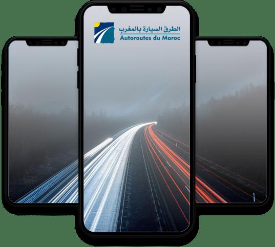 Conception, développement et publication de l'application mobile Auto-route de Maroc par l'agence web et mobile Majjane.