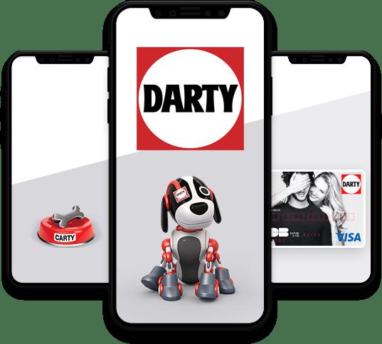 Conception, développement et publication de l'application mobile Darty par l'agence experte en développement mobile Majjane