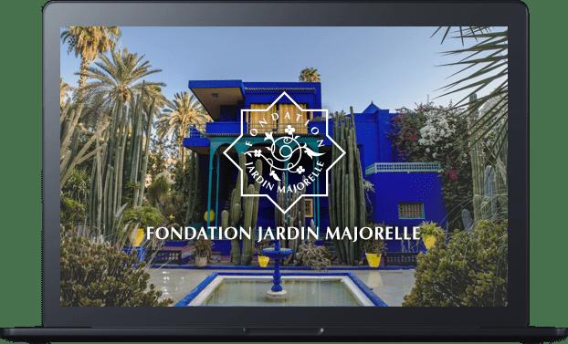 Conception et développement de la plateforme web E-ticket de Jardin Majorelle par l'agence web Majjane
