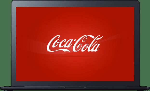 Conception et intégration de newsletter de Coca-cola