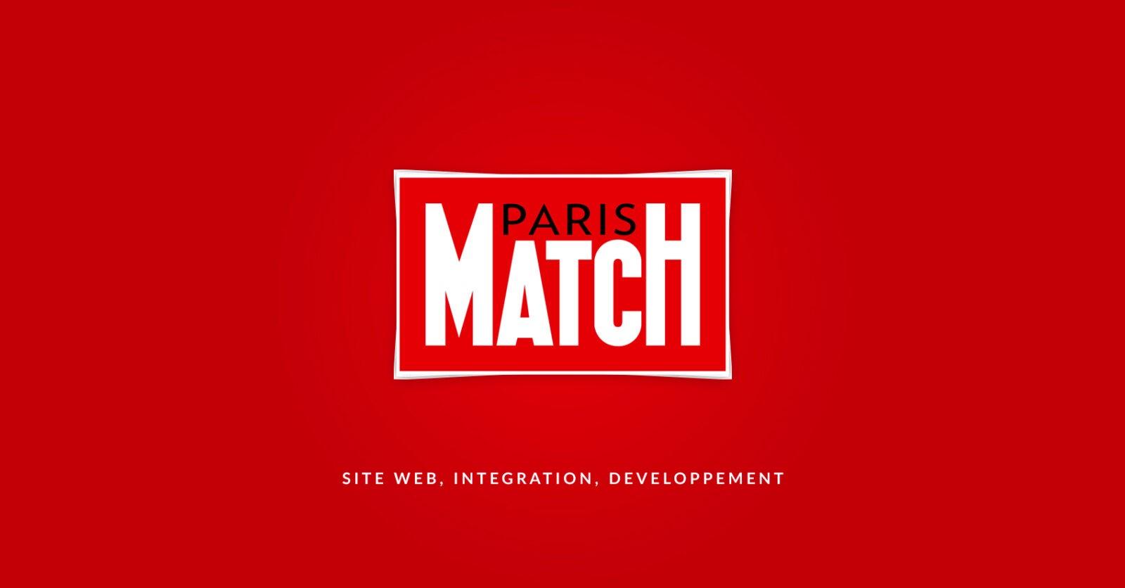 Conception et développement du site web de Paris Match par l'agence web Majjane.